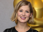 Rosamund Pike gives birth to baby boy