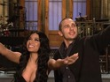 James Franco and Nicki Minaj perform their own NBC musical for SNL.