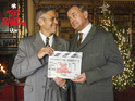The Hollywood actor is appearing in a comedy skit as part of ITV's Text Santa.