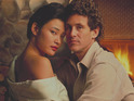 Joan Chen and Michael Ontkean in Twin Peaks