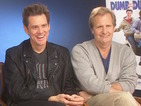 Jim Carrey, Jeff Daniels on Dumb and Dumber To, snerd nurgling