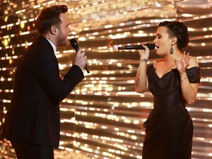 The X Factor Final, Olly Murs and Demi Lovato