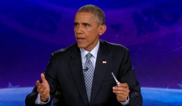 Barack Obama on The Colbert Report