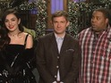 The Sherlock actor and Charli XCX try not to offend Kenan Thompson in teaser.