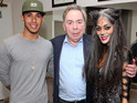See star as Grizabella on stage and being supported backstage by Lewis Hamilton.