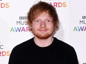 Ed Sheeran arrives at the BBC Music Awards 2014