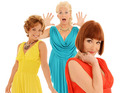 The comedy cabaret trio will finish their 'Charm Offensive' tour in the UK.