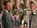 James Sutton hints at the reasons why John Paul and Ste's wedding goes wrong.