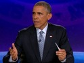The US President jokes about Obamacare on the Comedy Central show.