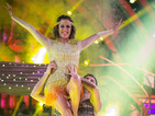 Caroline Flack on Strictly Come Dancing: 'Simon Cowell's proud of me'