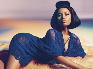 "Nicki Minaj looks stunning as the new face of Roberto Cavalli. The rap star appears in these images from the Italian fashion brand's Spring/Summer 2015 campaign. The company said in a statement: ""The tribal dance of Nicki Minaj enchants the lens, while the heat of the sun and the powerful colours inebriates the mind."" The photos were shot by Francesco Carrozzini for the fashion house."