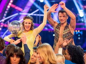 Caroline Flack and Pasha Kovalev win Strictly Come Dancing 2014
