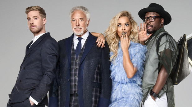 The Voice UK series 4 coaches