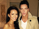 Jonathan Rhys Meyers gets engaged to Mara Lane after dating for months.