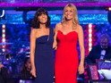 Strictly Come Dancing final: Tess Daly and Claudia Winkleman