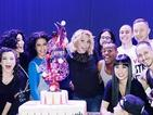 Britney Spears celebrates first anniversary of Las Vegas residency