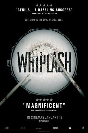 Whiplash UK poster