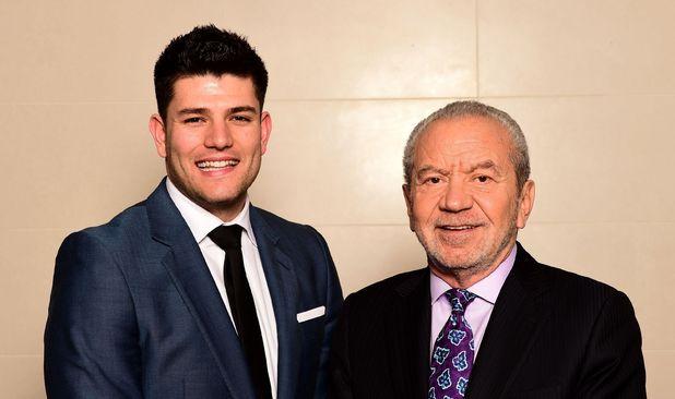 Mark Wright and Lord Sugar