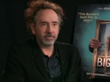Tim Burton 'Big Eyes' junket screengrab