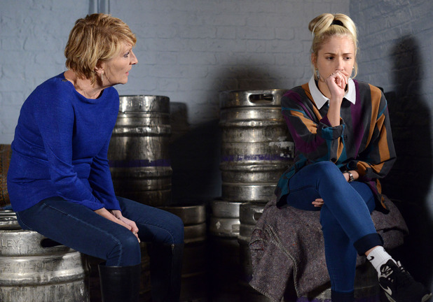 Nancy tells a shocked Shirley she knows Dean kissed Linda