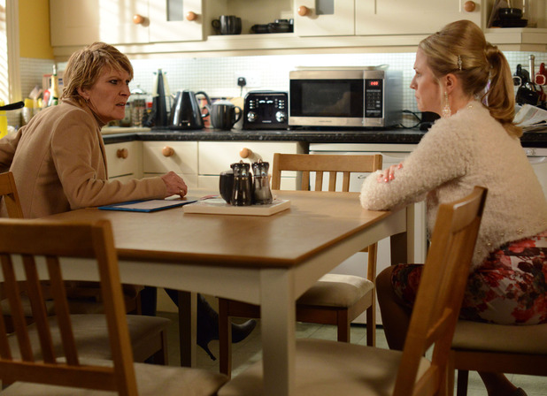 Linda tells Shirley she isn't lying about the rape