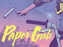 He is teaming with Cliff Chiang on Paper Girls and Steve Skroce on We Stand on Guard.