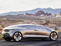 Mercedes-Benz's F015 Luxury in Motion is filmed cruising through Californian city.
