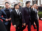 Entourage movie films scene at Golden Globes