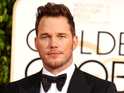 Chris Pratt arriving at the 72nd Golden Globes