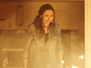 Sophie commits arson at the caravan park