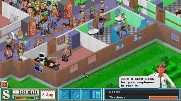 Theme Hospital Screenshot