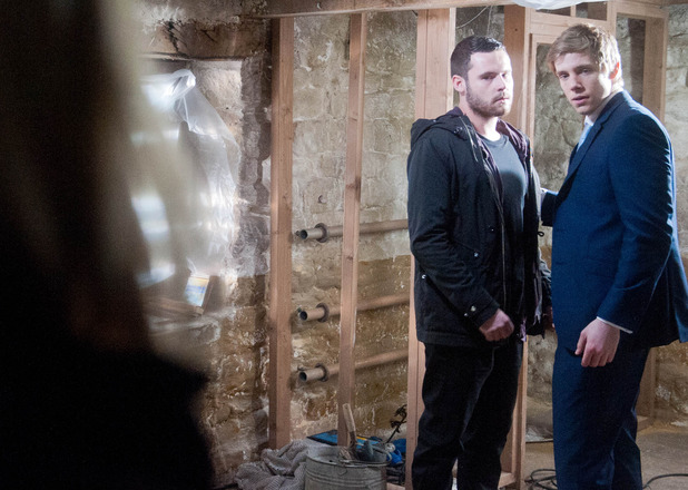 Robert and Aaron realise they've been caught out