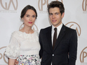 The actress welcomed her first child with musician husband James Righton back in May.