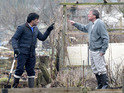 Roy falls out with Sharif when they are forced to share an allotment.