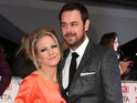 Danny Dyer jokes about sharing award with Kellie Bright in acceptance speech.