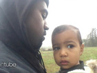 Kanye West walks with North West in first look at 'Only One' video