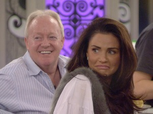 Keith Chegwin, Katie Price on Celebrity Big Brother