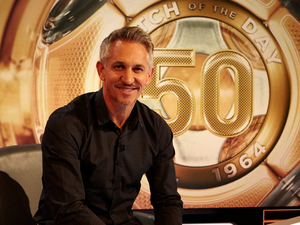 Gary Lineker - 50 years of Match of the Day