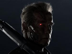 Arnold Schwarzenegger as T-800 in Terminator: Genisys