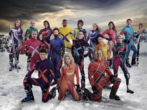 The cast of The Jump 2015