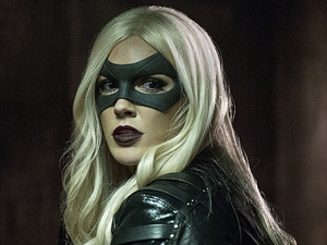 Katie Cassidy as Black Canary in Arrow S03E11: 'Midnight City'