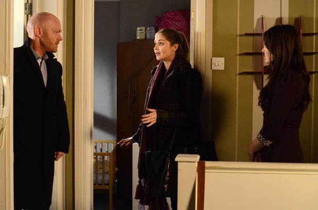 Max arrives on the hunt for Lauren