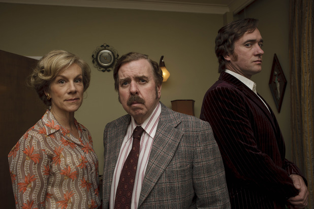 Timothy Spall, Juliet Stevenson and Matthew Macfadyen in The Enfield Haunting