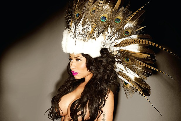 Nicki Minaj press shot.