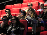 Jameela Jamil and Ella Eyre attend the launch of the UK's first-ever 4DX cinema