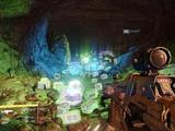 The infamous loot cave from Destiny