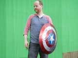 Joss Whedon on the set of The Avengers: Age of Ultron