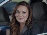 Lindsay Lohan car insurance ad