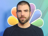 Zachary Quinto arrives at day 2 of the NBCUniversal 2015 Press Tour