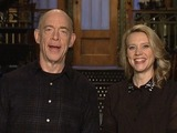 JK Simmons and Kate McKinnon on SNL